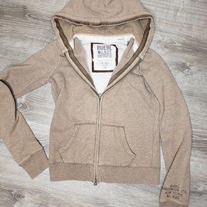 Ruehl No. 925 size small zipper hoodie